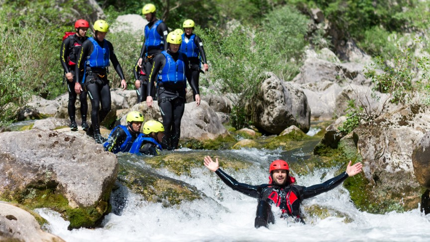 Picture of Basic Canyoning