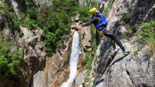 Canyon waterfall Cetina We Adventure