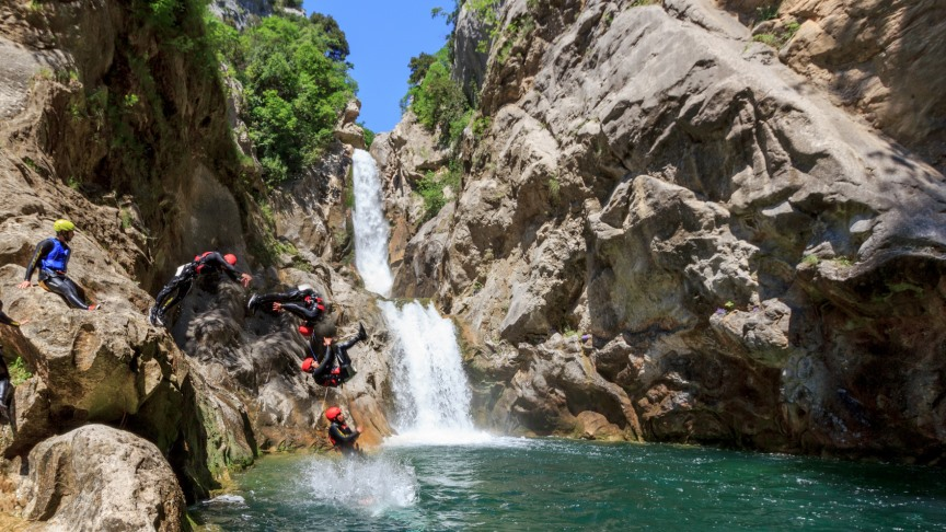 Picture of Extreme canyoning