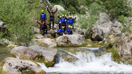 Extreme canyoning Split We Adventure