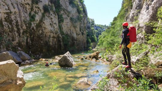 Extreme canyoning Split Cetina We Adventure