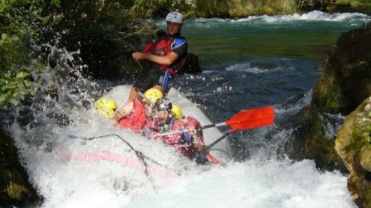 We Adventure rafting Cetina river