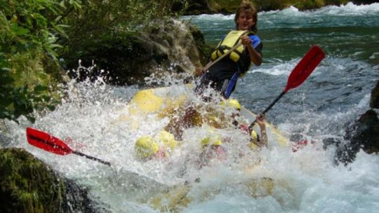 Rafting on Cetina weadventure.net