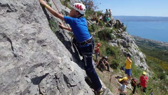 We adventure Rock Climbing Omiš