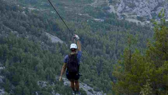 Zip line Kozjak with we adventure Split